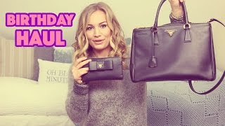Birthday Haul 2015! | Prada, Louis Vuitton, Christian Louboutin