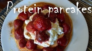 Protein Pancakes - How To Make 65g High Protein Pancakes