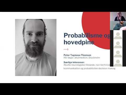 YDAM Kursusdag 7/3-21 - Probabilisme og hovedpine - Peter Tagmose Thomsen