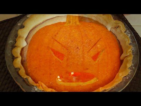 Halloween Pumpkin Pie | Leftover Pumpkin Recipe