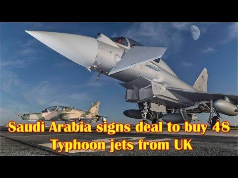 Saudi Arabia Signs Memorandum with UK to Purchase 48 Typhoon Aircraft