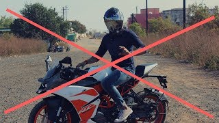 5 Reason Why Not To Buy KTM RC200.