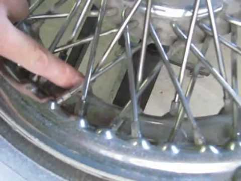 Refurbishing Wire Wheels Youtube