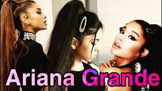 Transformarea mea in Ariana Grande/My transformation into Ariana Grande ❤️❤️❤️