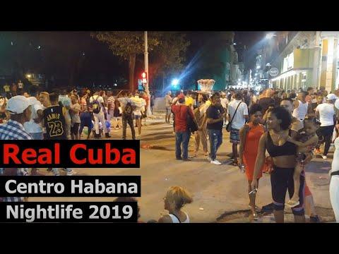 Centro Habana Big Party Nightlife Havana Cuba 2019 Real Cuba
