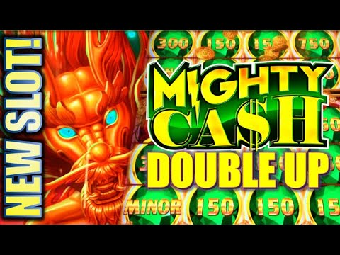 ★NEW SLOT! FIRST SPIN BONUS! 🤩★ MIGHTY CASH DOUBLE UP Slot