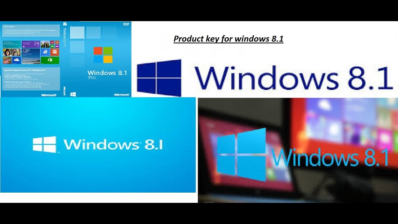 window8.1 pro product key