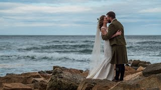 Tina & Mo | Wedding Film | Cow Shed at Crail | St Andrews | Scotland