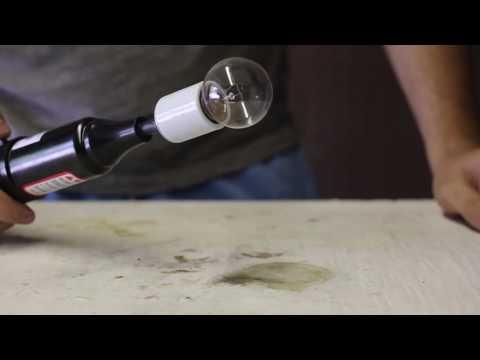 How to Make Plasma Ball Out Of Light Bulb #1