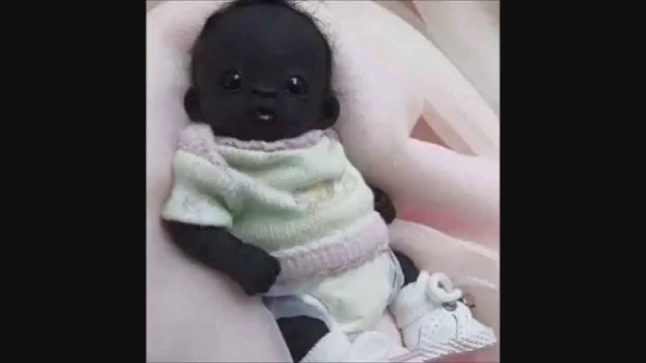 The Most Black Baby Of The World From Indian - YouTube