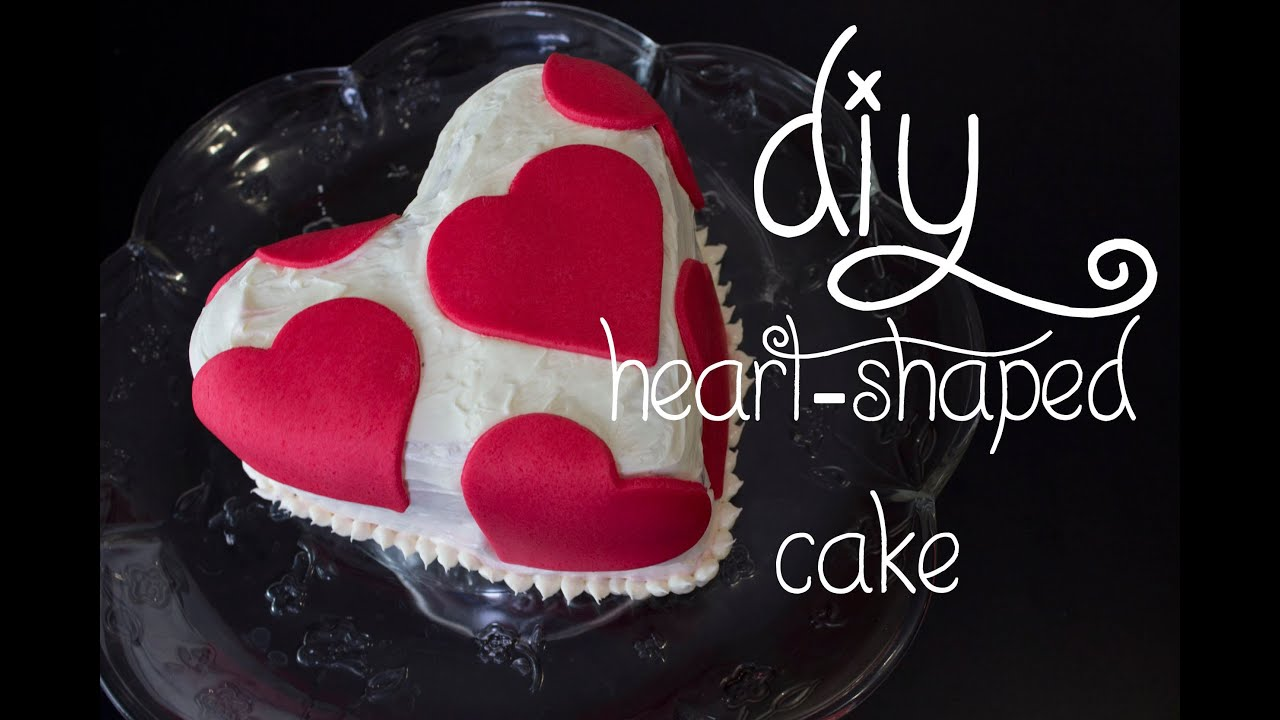 14 days of valentine day 4 heart shaped cake youtube