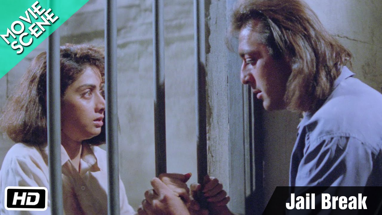 Download Jail Break - Movie Scene - Gumrah - Sanjay Dutt, Sridevi, Anupam Kher