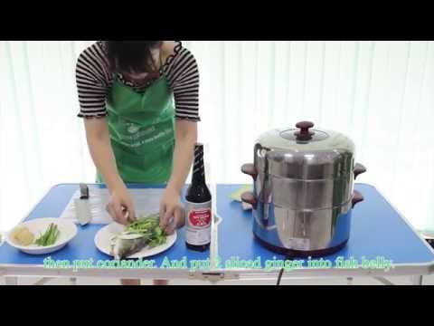 How It's Made The Steamed Fish Recipe With Jade Bridge Soy Sauce