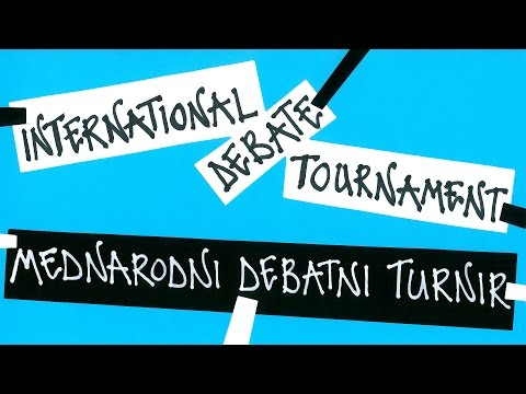 Final of the 14th International Worlds Schools Debate Tournament
