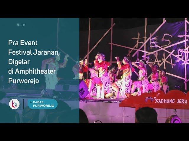 Pra Event Festival Jaranan, Digelar di Amphitheater Purworejo