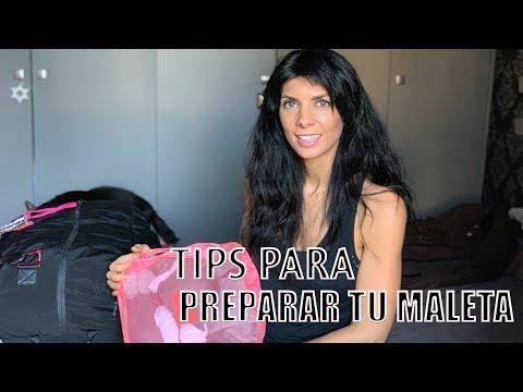 TIPS PARA ORGANIZAR TU MALETA DE VIAJE!