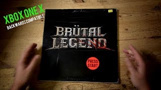 BRUTAL LEGEND Backwards Compatible On Xbox One X The first 45 minutes of game