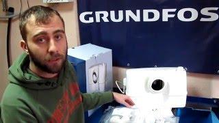 Канализационная насосная станция Grundfos Sololift 2 WC-3(Подбор, подключение и принцип работы компактной канализационной насосной станции Grundfos Sololift 2 WC-3 Сайт компа..., 2016-02-10T12:17:26.000Z)