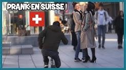 Demander une femme Suisse en mariage - Défi Prank - Les Inachevés