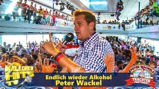 Peter Wackel  - Endlich wieder Alkohol  - Trachten Partyboot