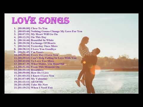 【温馨浪漫】21首必听浪漫英文情歌 Top 21 romantic love songs (English)   Hit English Song  Mp3 Song Download   Full Song