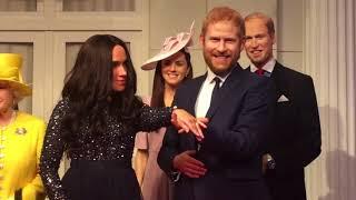 Prince Harry & Meghan at Madam Tussaud's London