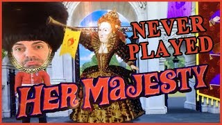 👑 Her Majesty the QUEEN! 🙆 ✦ Monte Carlo Casino Las Vegas ✦ Slot Machines w Brian Christopher