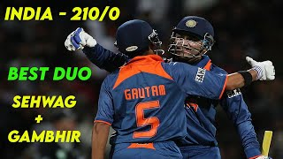 India 201/0 - Best Run Chase by India vs New Zealand in ODI Cricket History | MERCILESS DOMINATION!!