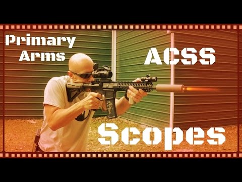Primary Arms 2.5x and 4x ACSS Compact Scopes Review (HD)