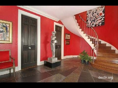 Ideas para pintar el interior de tu casa en rojo youtube for Casa pintadas con colores modernos