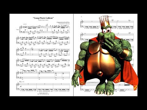 Gang-Plank Galleon - Donkey Kong Country ~ Violin Cover