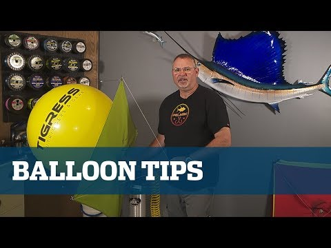 Kite Balloons - Florida Sport Fishing TV Rigging Station