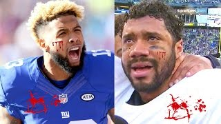 ODELL BECKHAM JR. FIGHTS RUSSELL WILSON OVER CIARA (Odell Beckham vs Russell Wilson Fight) Madden 17