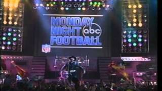 "ABC Sports ""Monday Night Football"" All My Rowdy Friends II Promo - 1990"