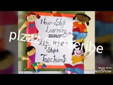school and classroom bulletin board decoration ideas