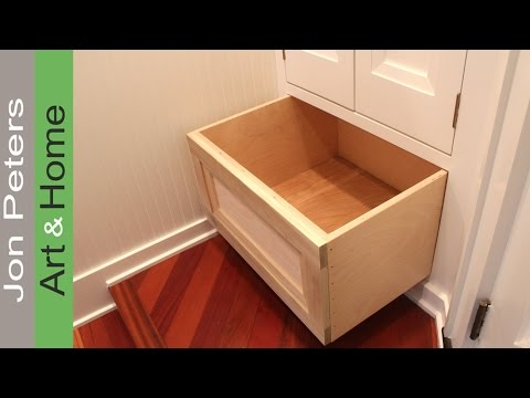 How To Build A Cabinet Drawer By Jon Peters Youtube