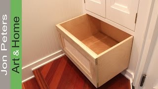 How to Build a Cabinet Drawer by Jon Peters