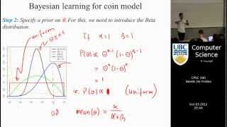 undergraduate machine learning 12: Bayesian learning