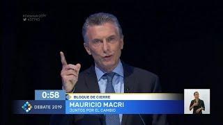 Macri: Volvió el dedito acusador, el kirchnerismo no cambió