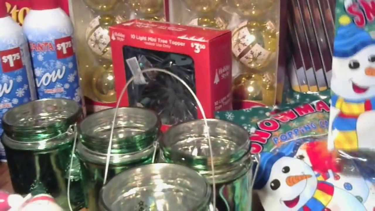1/25/14 Dollar General Haul Christmas Clearance .25 items!!! $360 ...