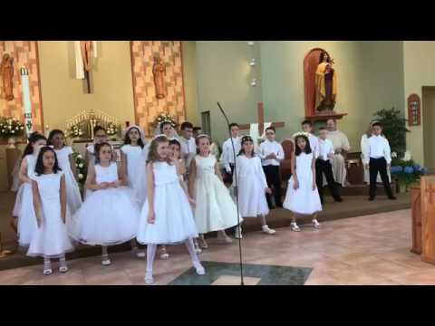 First Holy Communion Song - May 6, 2017