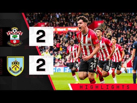 90-SECOND HIGHLIGHTS: Southampton 2-2 Burnley   Premier League