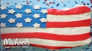 4th of July: Red, White, and Blue Cupcakes | Michaels