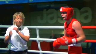 Silesian Open 2015: 1/2 75 kg - Anna Laurell vs Caitlin Parker