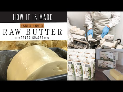How It Is Made [Raw Cultured Butter] *from Grass Fed Cows