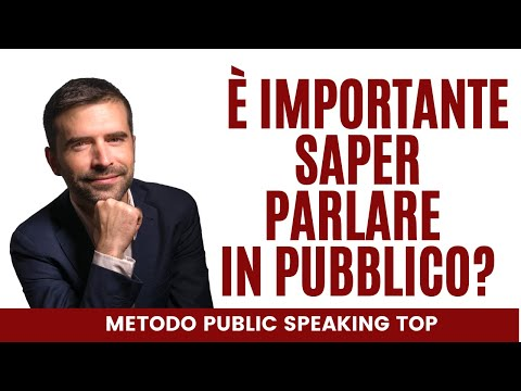 Immagine per Public Speaking: quanto è importante saper parlare in pubblico in maniera efficace e coinvolgente