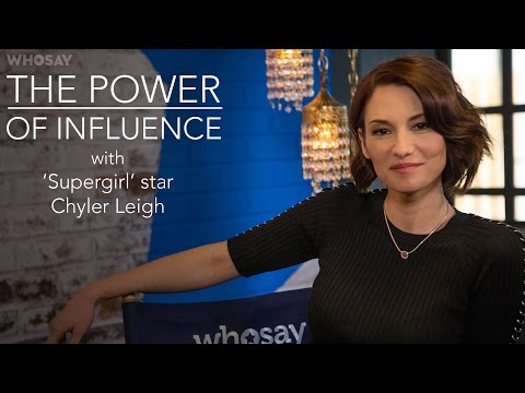 'Supergirl' Star Chyler Leigh on Engaging Fans Online: 'It's a Delicate Balance'   WHOSAY