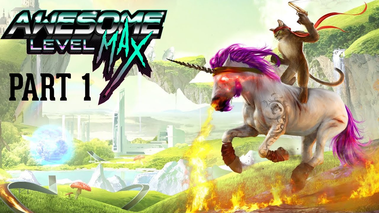 Trials fusion awesome level max gameplay walkthrough part - Trial fusion unicorn ...