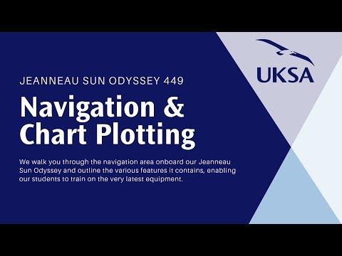 Jeanneau Sun Odyssey 449 - Chart Plotting & Navigation