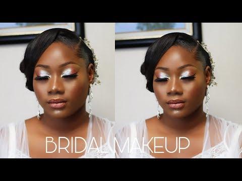 #weddingmakeup #weddingtransformation #melaninbride NIGERIAN BRIDAL MAKEUP TUTORIAL| FLAWLESS BEAT thumbnail